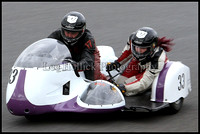 Mallory Park 1 Historic  Sidecars.