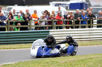 Mallory Park Historic Sidecars.