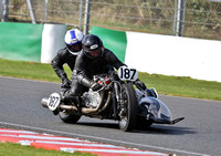 Sidecars through the Esses